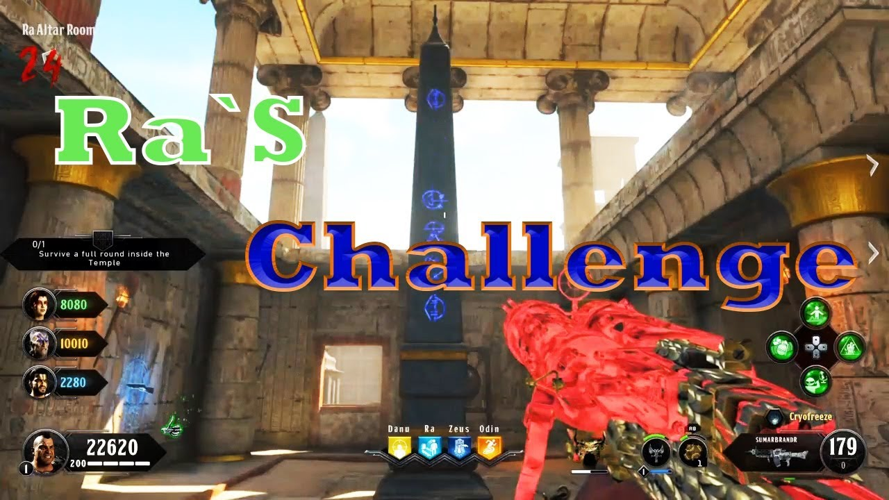 Black ops zombies ix easter egg tutorial guide step ra  challenge also rh youtube
