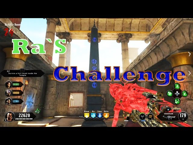 Black Ops 4 Zombies -IX Easter Egg Tutorial Guide Step 3 (Ra`s Challenge)