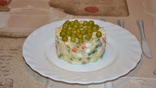 Салат оливье по испански