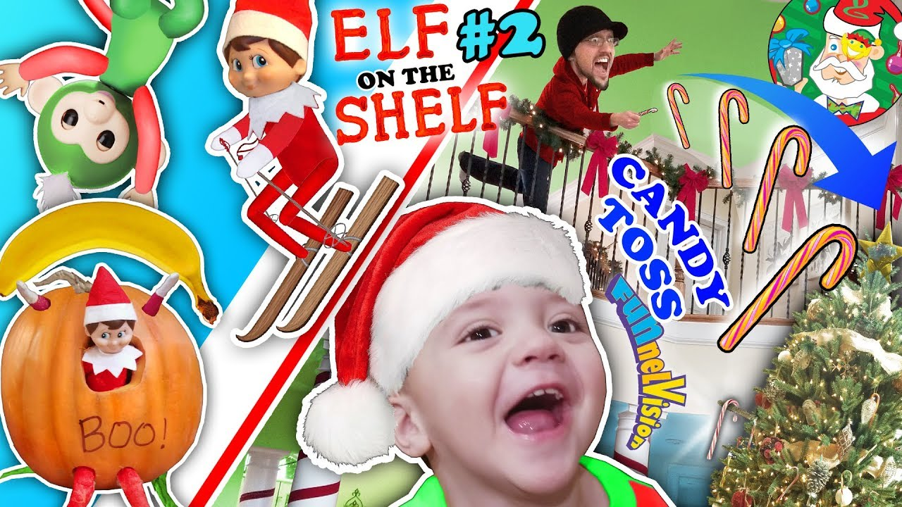 Funnel Vision Christmas 2020 Vlog Silly ELF on the SHELF & 12th Day of Christmas Month Vlog FUNnel