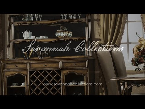 Luxury Furniture China by Savannah Collections - Hickory White