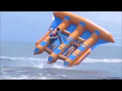 Flying banana boat
