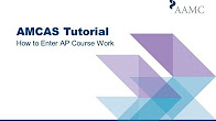 amcas coursework future courses