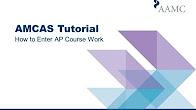 amcas coursework future courses
