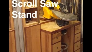 Scroll Saw Stand - Part 1 of 2