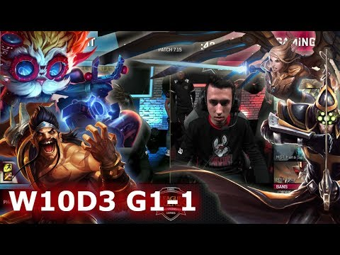 ROCCAT vs Misfits | Game 1 S7 EU LCS Summer 2017 Week 10 Day 3 | ROC vs MSF G1 W10D3