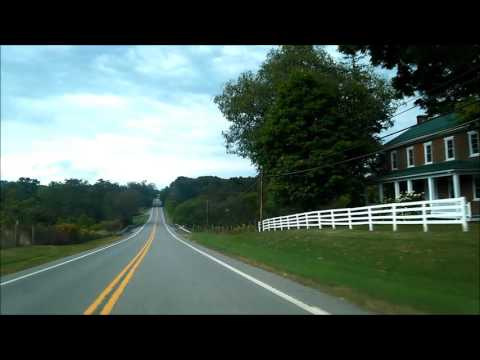 Lincoln Highway Eastbound Bedford County: Eastern Divide to Breezewood