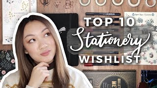 Top 10 Supplies To Put On Your Stationery Wishlist! | Holiday Gift Ideas!