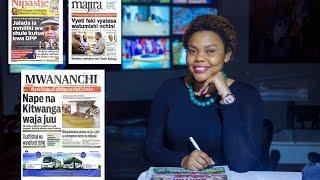 MAGAZETI: Nape na Kitwanga waja juu, Waziri Kabudi afafanua cheti chake