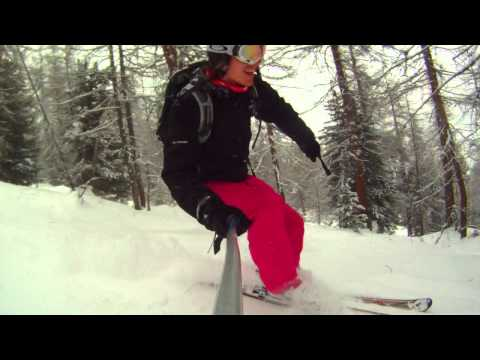 Trees and Powder in Livigno, January 2012 - filmed with Drift HD170 Stealth