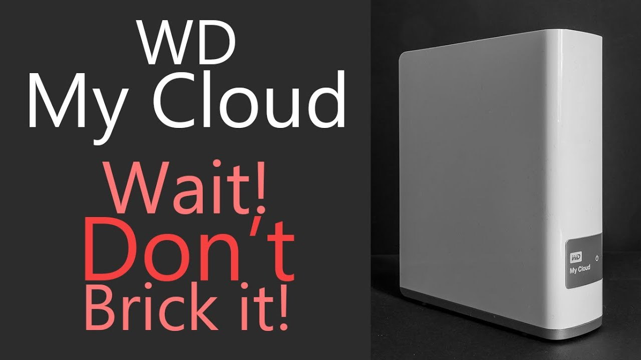 Wd My Cloud Click Quick Trick Fits And Fix Youtube