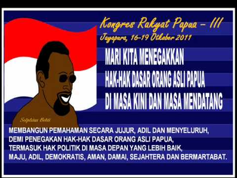 The OPM March in Papuan People Congress 2011.wmv