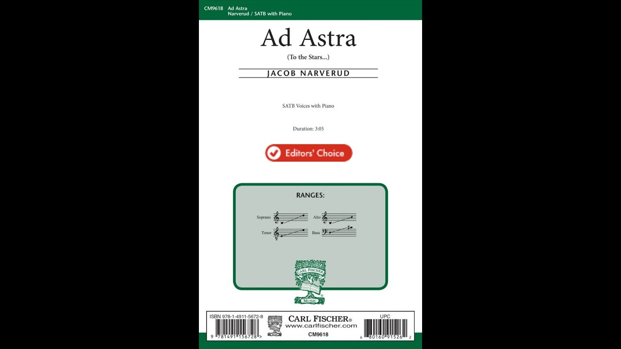 """Download """"Ad Astra"""" by Jacob Narverud (SATB Choir)"""