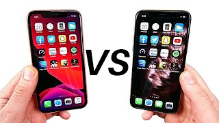 iPhone XR vs iPhone 11 Pro Speed Test!