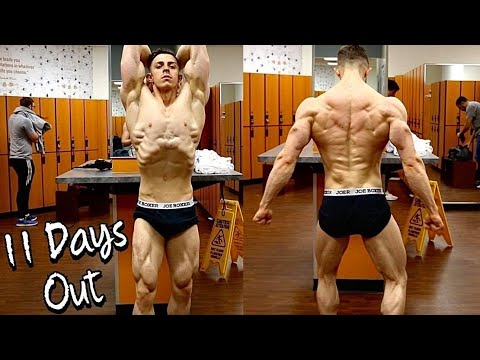 11 Days Out | First Bodybuilding Show | 20 Years Old