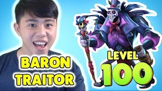 Monster Legends: Baron Traitor level 1 to 100 - Combat