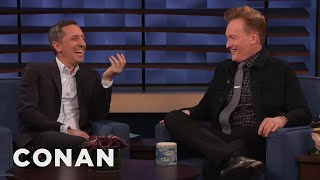 Conan Teaches Gad Elmaleh How To Promote A Project On American TV - CONAN on TBS