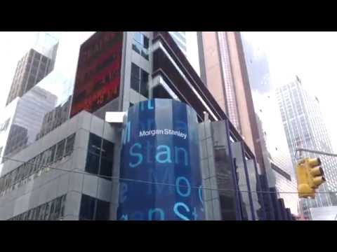 Morgan Stanley Building in Times Square, New York City, New York