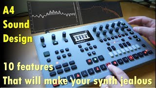 Tutorial: Analog Four/Keys Sound Design - 10 features that will make your synth jealous