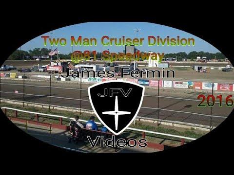 Two Man Cruiser Heat Race #7, 81 Speedway