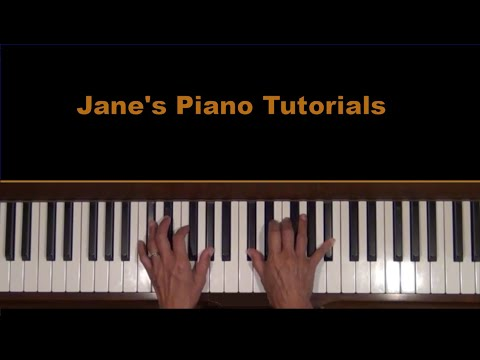 George Winston Variations on the Canon Piano Tutorial at Tempo