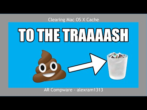 DELETE USELESS CRAP ON MAC | Clearing Cache Files from Mac OS X