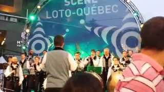 Bagad De Vannes Melinerion - Montréal JPR 2015