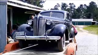 1938 Buick Special hits the road