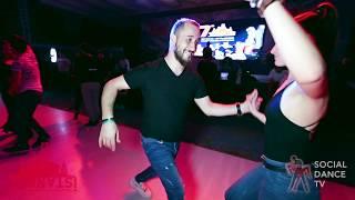 Yavuz Sucu & Roksana - Salsa social dancing | Istanbul Int. Dance Festival 2018