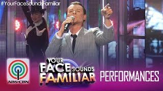 "Your Face Sounds Familiar Final Performance: Jay R As Frank Sinatra – ""New York, New York"""