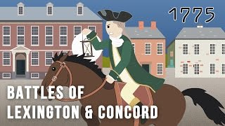 Battles of Lexington and Concord April 19, 1775, (The American Revolution)