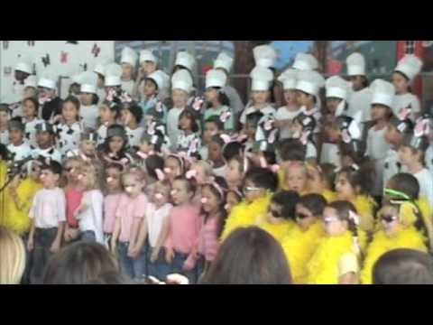American School of Doha Kindergarten Concert Barnyard Moosical Finale