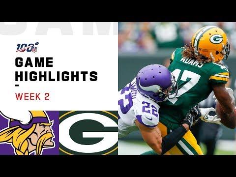 Vikings vs. Packers Week 2 Highlights   NFL 2019