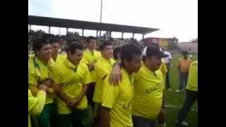 ELVIS TELLO ALVARADO, PREMIACION CAMPEON CHIANTLA 2012