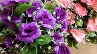 Букеты искусственных цветов от 70 рублей - ХЭЛП(Полный каталог ритуальных товаров доступен на сайте - http://www.ritualhelp.ru/ Искусственные цветы изготовляются..., 2012-12-11T05:39:13.000Z)