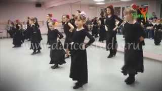 Открытый урок. Испанский танец. Педагог-хореограф Ольга Любицькая (8-12 лет)(Сайт: http://www.danco-studio.ru/ Группа ВК: http://vk.com/club43009224., 2014-04-17T19:48:13.000Z)