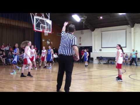 St Francis of Assisi 7th Grade Girls vs St Catharine's, Feb 19, 2017