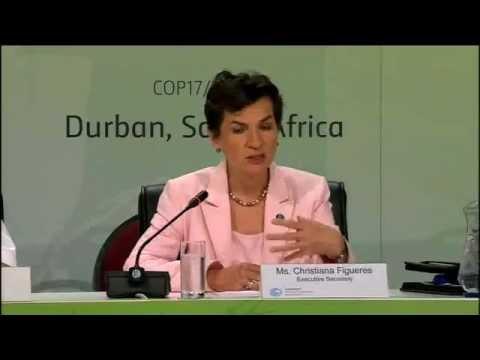Highlights of UNFCCC press briefing - Durban, 2 December 2011