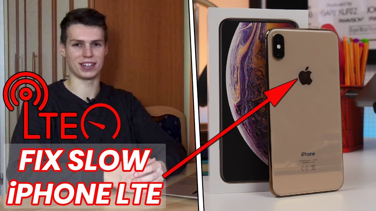 How to Fix Slow LTE on iPhone XS, iPhone XR and iPhone XS Max!
