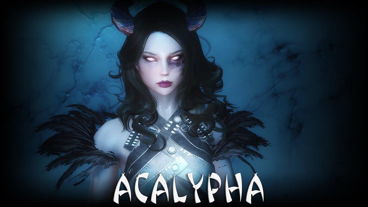 Skyrim: Acalypha - Fully voiced follower (full questline) by Mr SkyrimGTX