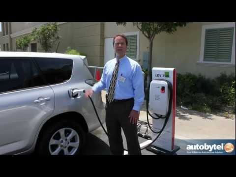 Leviton Car Charger for the Toyota RAV4 EV - Electric Car Charging Station Video - ABTL Auto Extras