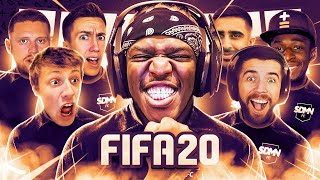 SIDEMEN BEST PRO CLUBS MOMENTS OF FIFA 20