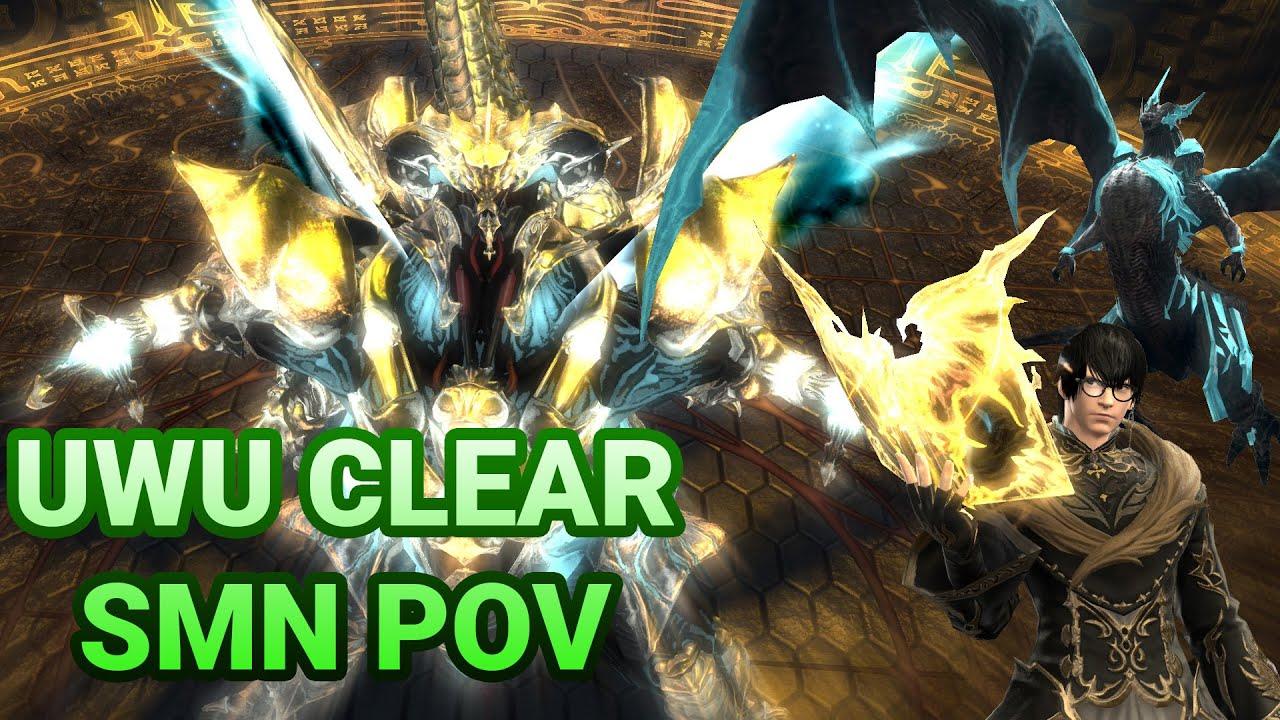 [FFXIV 4 55] The Weapon's Refrain (Ultimate) SMN POV 030619