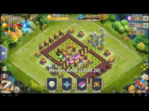 Castle Clash - Current Max Inscribe 80