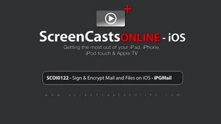 SCOI0122 - Sign & Encrypt Emails and Files on iOS with IPGMail