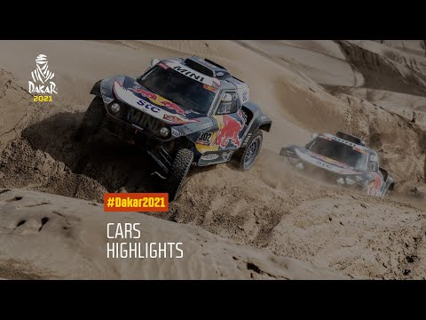 #DAKAR2021 - Cars Highlights