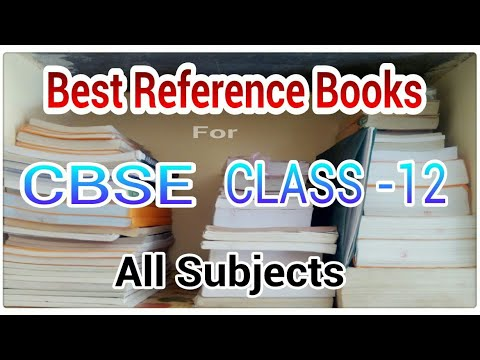 Best reference books for class 12 maths