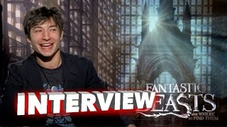 Fantastic Beasts: Ezra Miller Exclusive Interview