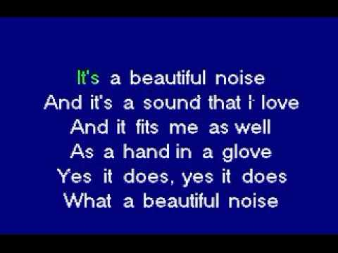 Karaoke-Beautiful Noise.flv