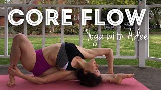 20 Minute CORE FLOW Yoga Class